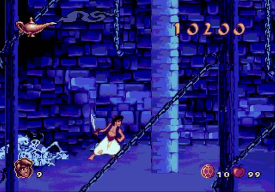 Aladdin Sega Genesis