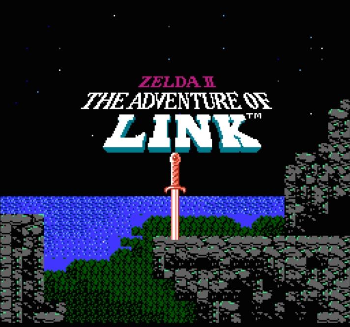 Zelda II Adventure of Link