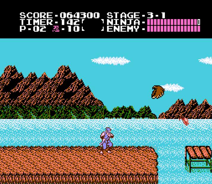 Classic Gaming Ninja Gaiden 1988 Gaming Hearts Collection