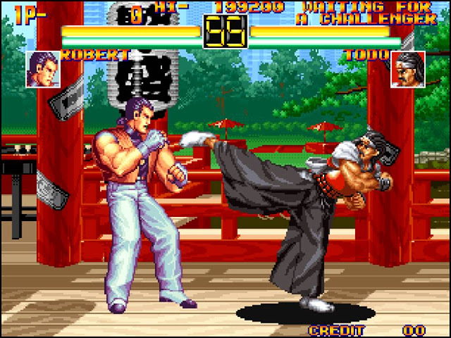 Retro Gaming Art Of Fighting 1992 Gaming Hearts Collection