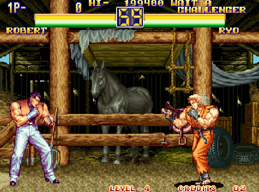 Retro Gaming Art Of Fighting 2 1994 Gaming Hearts Collection