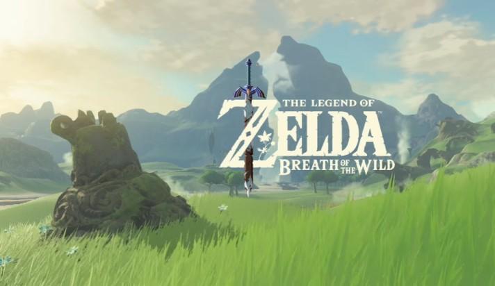 zelda breath of the wild logo end of trailer