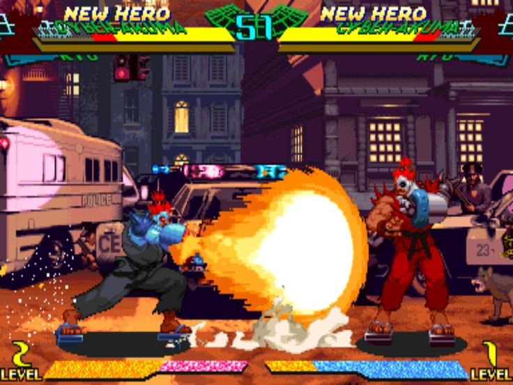 Did the CP System II have the best fighting games? – Gaming