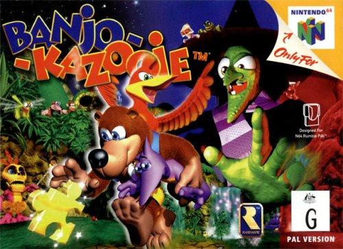 Banjo Kozooie n64