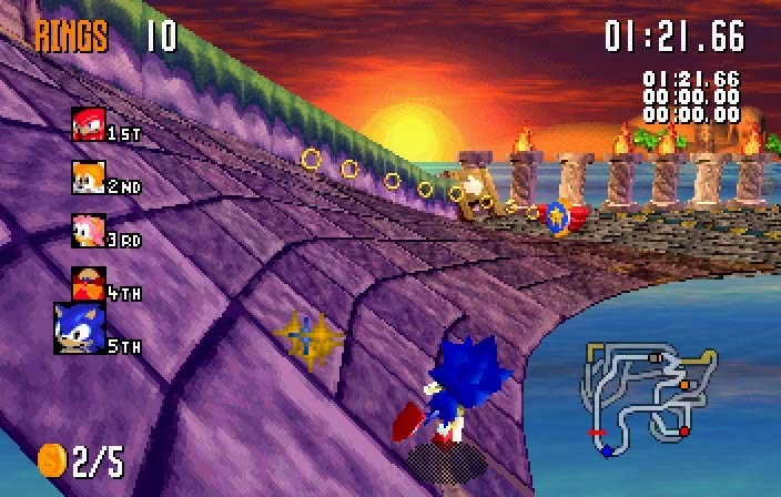 Retro Gaming 90's- Sonic R: (1997) – Gaming Hearts Collection